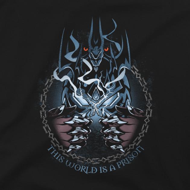 Tričko World of Warcraft - Shadowlands This World is a Prison (velikost XL)