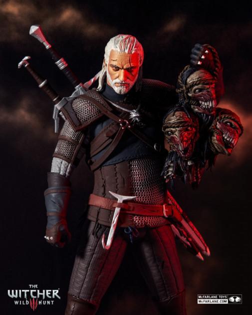 Figurka Zaklínač - Geralt Action Figure 30 cm (McFarlane)