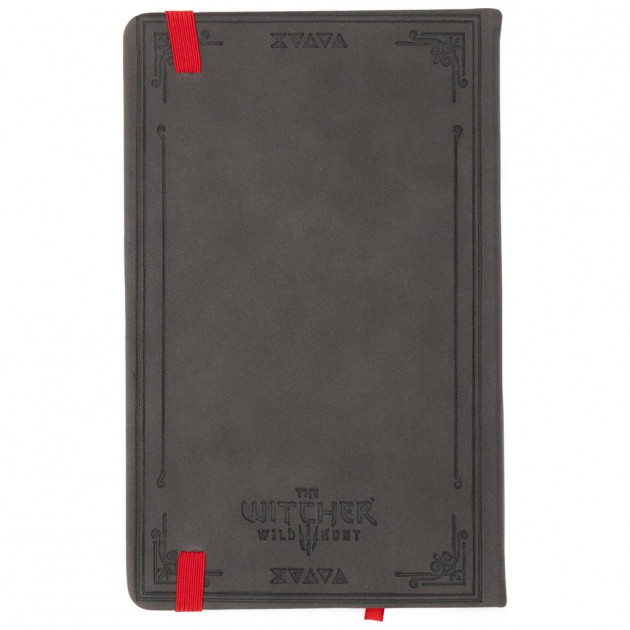 THE WITCHER 3 HUNTER NOTES JOURNAL