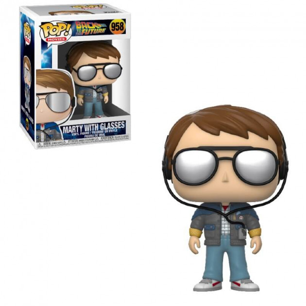Figurka Back to the Future - Marty with Glasses (Funko POP! Movies 958)