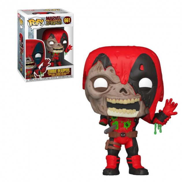 Figurka Marvel Zombies - Deadpool (Funko POP! Marvel 661)