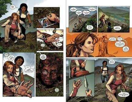 Komiks Tomb Raider Volume 2: Secrets and Lies