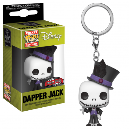 Klíčenka Disney - Dapper Jack (Funko)