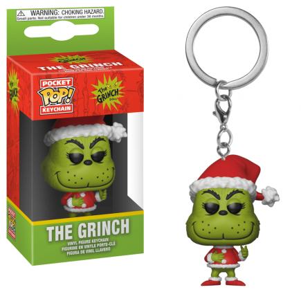 Klíčenka The Grinch - The Holiday Grinch (Funko)