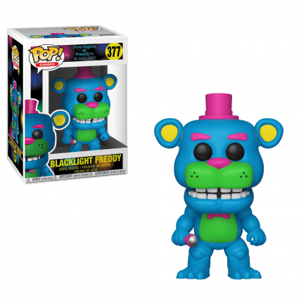 Figurka Five Nights at Freddys - Blacklight Freddy Fazbear (Funko POP! Games 377)