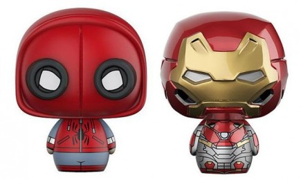 Figurka Spider-Man: Homecoming - Spider-Man + Ironman (Funko Pint Size Heroes)