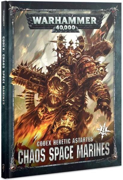Kniha W40k: Codex: Chaos Space Marines (2019)