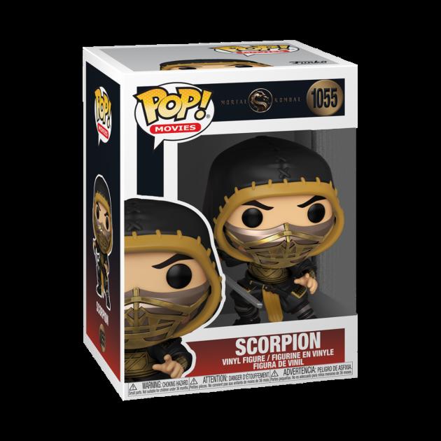 Figurka Mortal Kombat - Scorpion (Funko POP! Movies 1055)