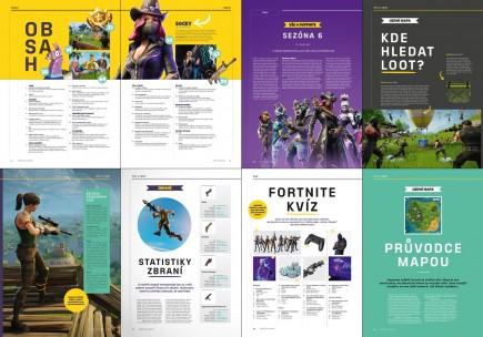 Časopis Příručka hráče Fortnite
