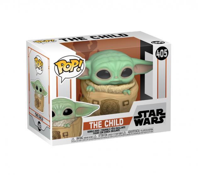 Figurka Star Wars: The Mandalorian - Child with Bag (Funko POP! Star Wars 405)