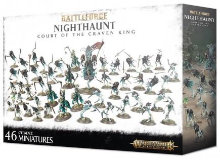 W-AOS: Nighthaunt: Court Of The Craven King (46 figurek)