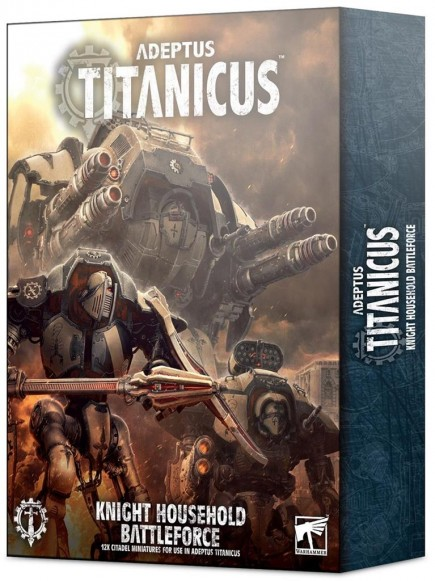 W40k: ADEPTUS TITANICUS: Knight Battleforce (12 figurek)