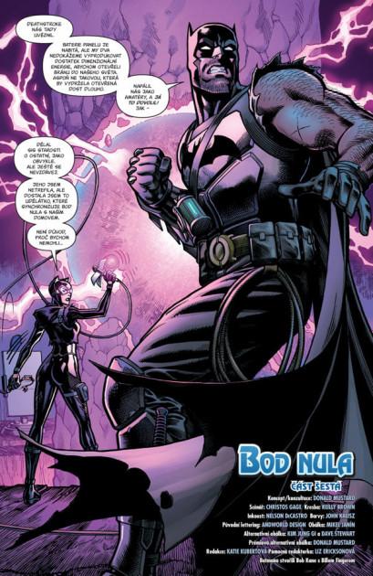 Komiks Batman/Fortnite: Bod Nula #6