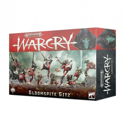 W-AOS: Warcry - Gloomspite Gitz (13 figurek)