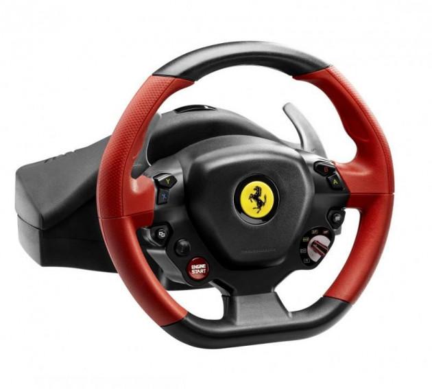 Sada volantu a pedálů Thrustmaster Ferrari 458 SPIDER (Xbox One, Xbox Series X | S)