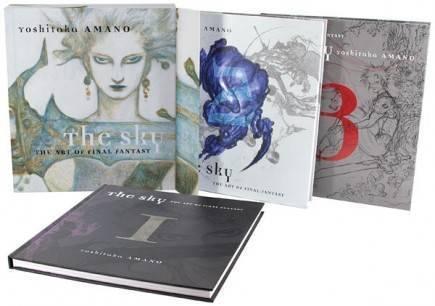 Kniha The Sky: The Art of Final Fantasy - Slipcased edition