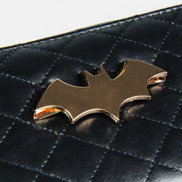 PURSE BUSINESS CARD HOLDER FAUX-LEATHER BATMAN