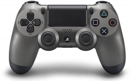DualShock 4 ovladač - Steel Black V2 (PS4)