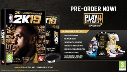 NBA 2K19 - 20th Anniversary Edition (XONE)