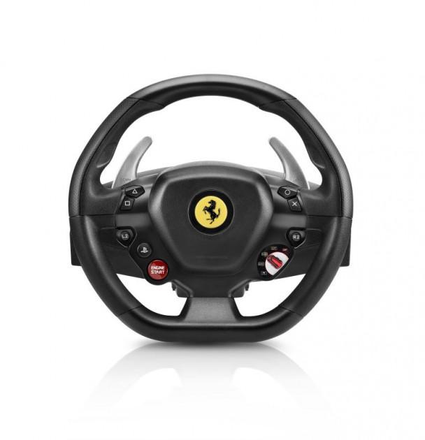 Sada volantu a pedálů Thrustmaster T80 Ferrari 488 GTB Edition (PS5, PS4 a PC)