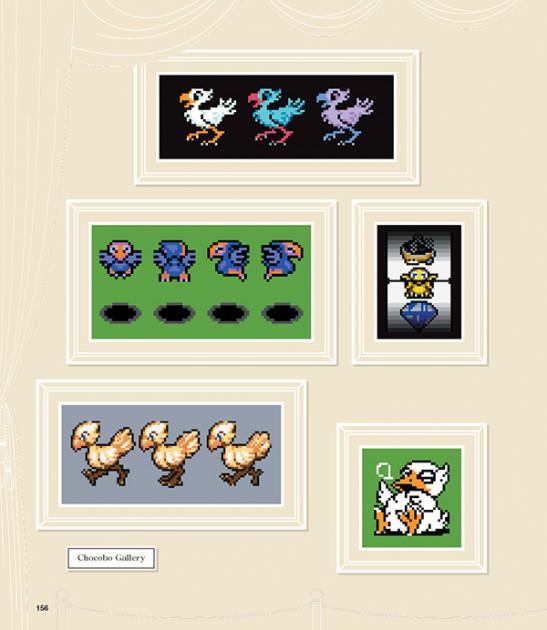 Kniha FF DOT: The Pixel Art of Final Fantasy
