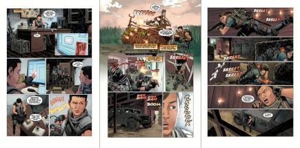 Komiks Tom Clancys The Division Extremis Malis #3