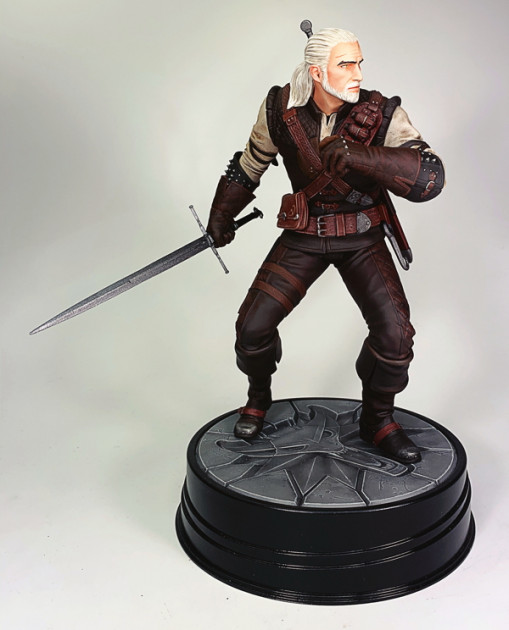 Figurka Zaklínač 3 - Geralt Manticore