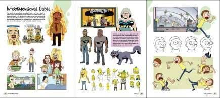 Kniha The Art of Rick and Morty