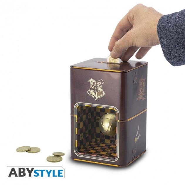 Pokladnička Harry Potter - Golden Snitch