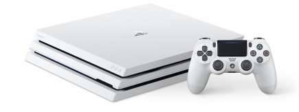 Konzole PlayStation 4 Pro 1TB - Glacier White