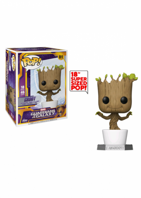 Figurka Guardians of the Galaxy - Dancing Groot (Funko Super Sized POP! Marvel 01)