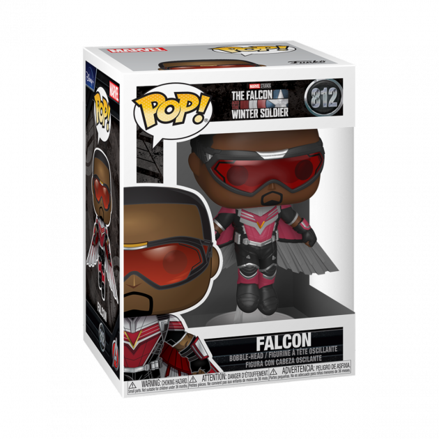 Figurka The Falcon and The Winter Soldier - Falcon (Flying pose) (Funko POP! Marvel 812)
