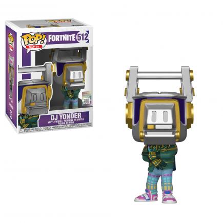 Figurka Fortnite - DJ Yonder (Funko POP! Games 512)