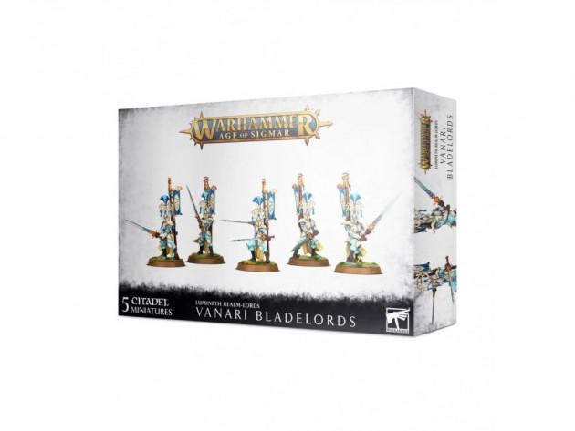 W-AOS: Lumineth Realm Lords Vanari Bladelords (5 figurek)