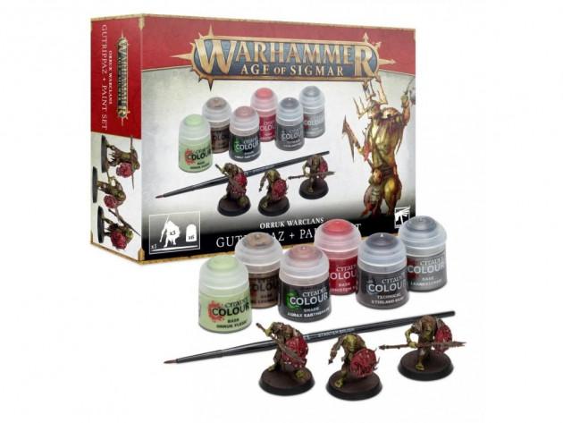 Barvící sada Citadel Age of Sigmar Orruk Warclans
