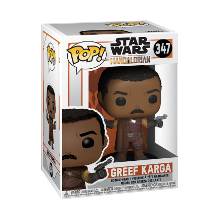 Figurka Star Wars: The Mandalorian - Greef Karga (Funko POP! Star Wars 347)