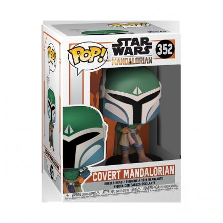 Figurka Star Wars: The Mandalorian - Covert Mandalorian (Funko POP! Star Wars 352)