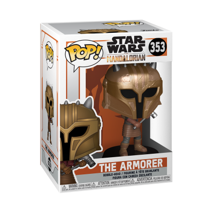 Figurka Star Wars: The Mandalorian - The Armorer (Funko POP! Star Wars 353)