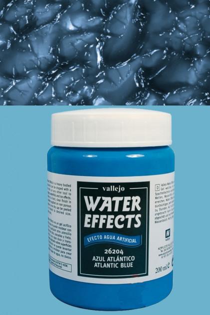 Water Effects (Atlantic Bluewater) - gelová barva, modrá (Vallejo)