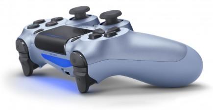 DualShock 4 ovladač - Titanium Blue V2