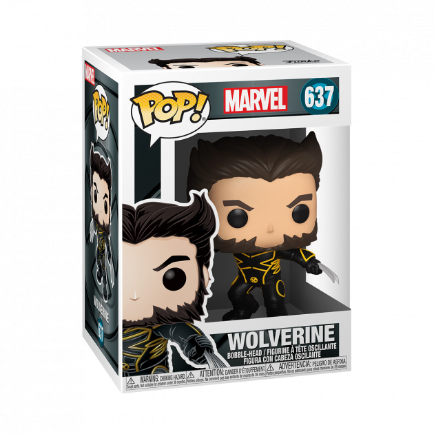 Figurka X-Men 20th Anniversary - Wolverine in Jacket (Funko POP! Marvel 637)