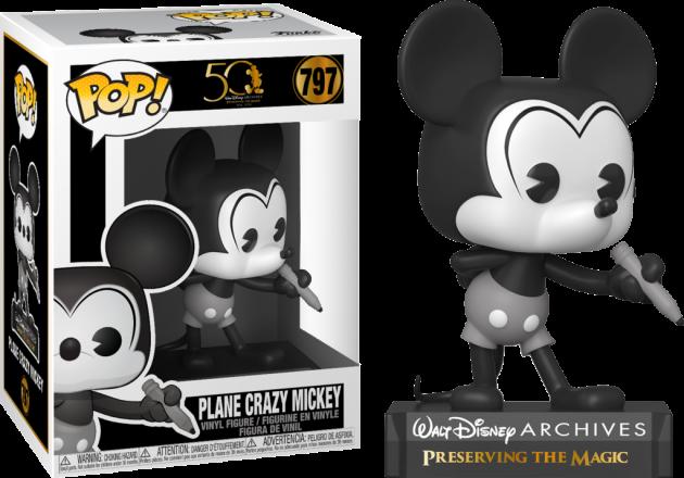 Figurka Disney - Plane Crazy Mickey (Funko POP! Disney 797)