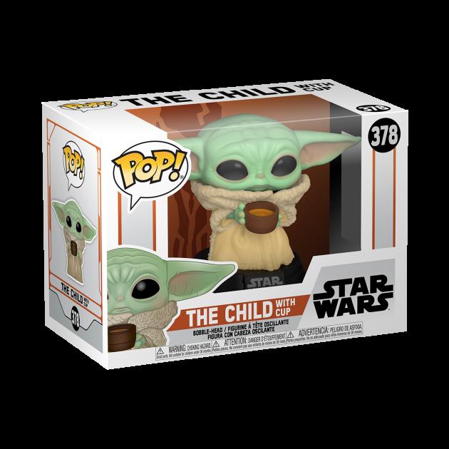 Figurka Star Wars: The Mandalorian - The Child with Cup (Funko POP! Star Wars 378)