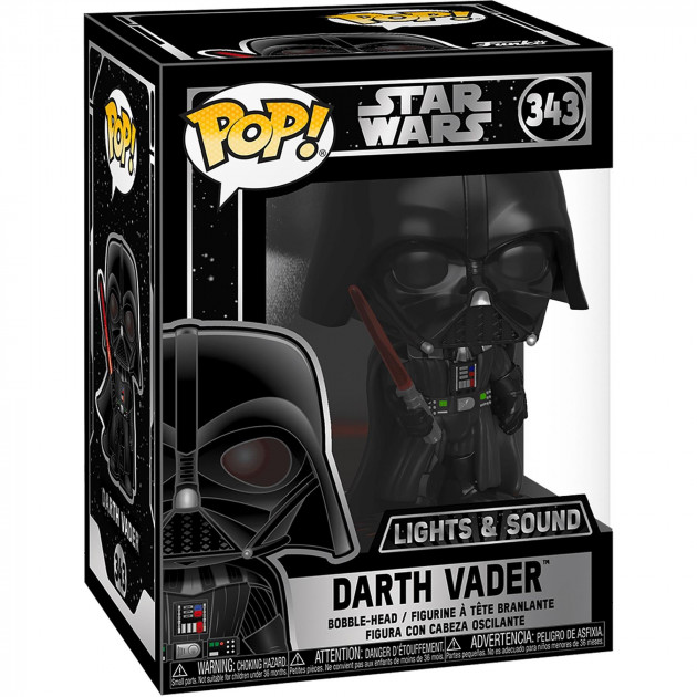 Figurka Star Wars - Darth Vader with Sounds and Light Up (Funko POP! Star Wars 343)