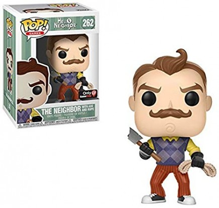 Figurka Hello Neighbor - Neighbor with Axe and Rope ( POP! Games 262)