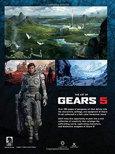 Kniha The Art of Gears 5
