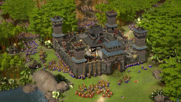 budování hradu
