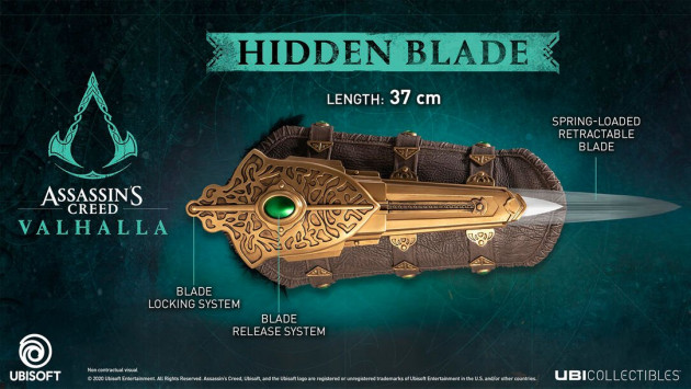 Replika Assassins Creed: Valhalla - Eivors Hidden Blade
