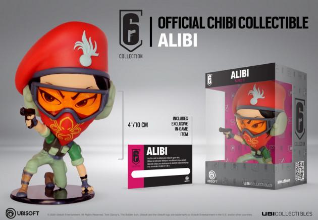 Figurka Rainbow Six: Siege - Alibi