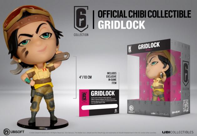 Figurka Rainbow Six: Siege - Gridlock